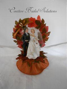 Fall Wedding Cake Cutter And Knife Autumn Christmas Server K117