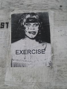 Exercise/exorcise fail.