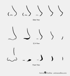 draw anime faces male - Google Search
