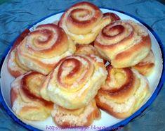Tortafüggő Marisz: Vaníliás csiga rétes Doughnut, French Toast, Pancakes, Breakfast, Desserts, Food, Morning Coffee, Tailgate Desserts, Deserts