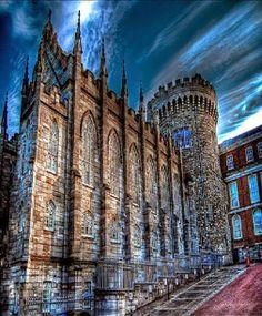 Dublin Castle in Dublin, Ireland