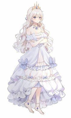 Kawaii Anime Girl, Manga Kawaii, Pretty Anime Girl, Manga Anime Girl, Cool Anime Girl, Beautiful Anime Girl, Anime Chibi, Anime Girls, Blonde Anime Girl