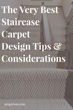 When you are adding new carpet over your staircase, here are a few installation tips you may want to consider. The way that the carpet is tucked on your staircase will provide a different design aesthetic depending on your chosen installation process! Staircase Wall Decor, Staircase Makeover, Staircase Design, Dark Carpet, Shag Carpet, New Carpet, Best Carpet For Stairs, Carpet Staircase, Basement Carpet