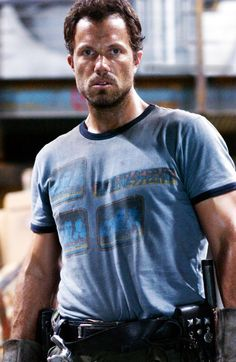 Adam Baldwin...nothing wrong with a very tall man and little whisker to boot.