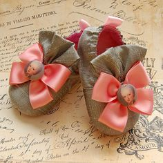 MARIEsilk baby shoes by flippybaby on Etsy, $45.00