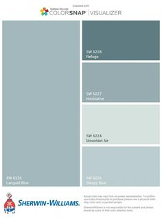 Exciting filed Meditation Room colors go to the website Interior Paint Colors For Living Room, Paint Colors For Home, Small Bathroom Paint Colors, Room Colors, House Colors, Colours, Small Basement Remodel, Basement Ideas, Blue Gray Paint