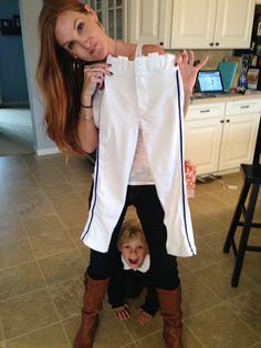 How to Clean Baseball Pants to Perfection:  Baseball Pants Tide Oxy Clean White.