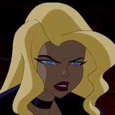 Cartoon Icons, Girl Cartoon, Cartoon Drawings, Dc Comics, Comics Girls, Black Canary Comic, Crying Cartoon, Justice League Animated, Dinah Laurel Lance