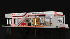Beautiful House Plans, Beautiful Homes, Exibition Design, Exhibition Stall Design, Kuala Lumpur City, Cafe Interior Design, Garage Design, Stand Design, Convention Centre