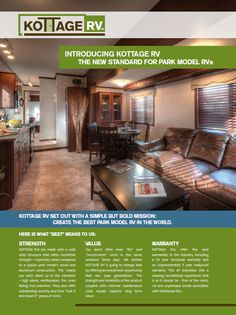 Superior park model homes recreational vehicles