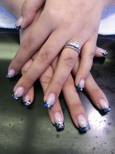 Formal affair nails by Kelly