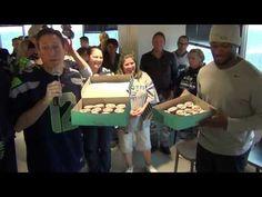 NFL Jersey's Preschool Seattle Seahawks Richard Sherman Nike College Navy Game Jersey