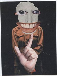 Hannah Hoch Fan Club -for Reed A.   Flickr: Intercambio de fotos... thinking of a series using expressions... keep your chin up. keep a stiff upper lip, word of mouth, so many mouths to feed, put your money where your mouth is, he put his foot in his mouth (foot in mouth disease)... the possibilities are endless!