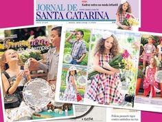 Vic no Jornal Santa Catarina.