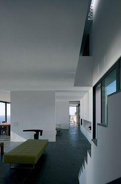 AIBS House, Spain by Atelier d'Architecture Bruno Erpicum & Partners (AABE). Photo: Jean-Luc Laloux | via Contemporist