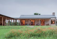 Landscape Architect Visit: A West Texas River Ranch with a Worldly View #landscaping