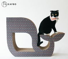 KAFBO Cat Scratching Furniture Whale shape_Polkadot L door KAFBO op Etsy https://www.etsy.com/nl/listing/216190410/kafbo-cat-scratching-furniture-whale