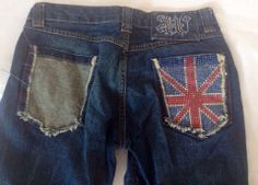 My #GodSavetheQueen #jeans  are going on a journey to #puertorico wish I could deliver them in person, sigh