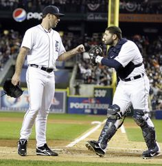 Justin Verlander and Alex Avila have helped the #Tigers roar out to a 3-games-to-0 lead in the #ALCS.