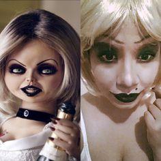 Bride of Chuky/ Halloween makeup