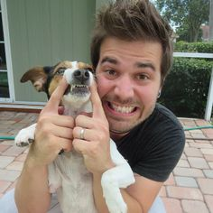 Charles Trippy & his dog, Marley #CTFXC #youtube #smiles