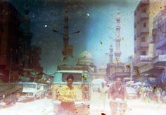 """""""As the world shifted from film photography to digital photography, many studios across Egypt shut down, leaving behind massive archives of film negatives.""""—Ahmed Hamed"""