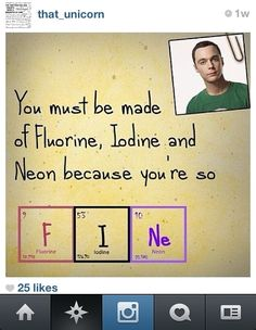 Big Bang Theory Pick Up Lines | Funny Valentine: 10 of Best Pickup Lines, Memes (The Must-Share 'Talk ...