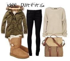 Casual outfit with Ugg boots