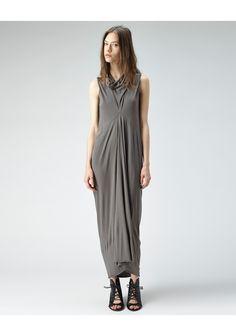 Rick Owens Lilies / Long Cowl Neck Dress  |   La Gar�onne | La Garconne