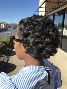 Relaxed hair care & natural hair care from a professional hairstylist Pressed Natural Hair, Natural Hair Tips, Natural Hair Styles, Medium Short Hair, Short Hair Cuts, Medium Hair Styles, Short Relaxed Hairstyles, Curled Hairstyles, Short Hair Syles
