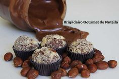 Receita Brigadeiro Gourmet de Nutella
