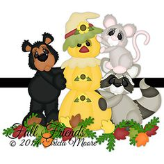 Fall Friends  svg, gsd, dxf, wpc, ai, pdf, png, and jpeg