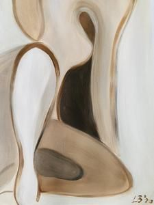 Nude & Umber, 2020 – Gabriella Le Blanc Art Paint Brushes, Ballet Shoes, Nude, Oil, Paper, Ballet Flats, Ballet Heels, Pointe Shoes, Dancing Girls