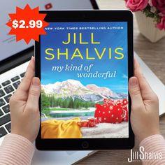 My Kind of Wonderful (Cedar Ridge Book Jill Shalvis, New York Times, Bestselling Author, My Books, Ss, Novels, Apple, Amazon, Reading