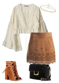 Designer Clothes, Shoes & Bags for Women Hippie Outfits, Retro Outfits, Cute Casual Outfits, Chic Outfits, Fashion Outfits, 70s Inspired Fashion, 70s Fashion, Mode Rock, Look Boho