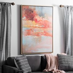 Autumn Skies Framed Canvas Art Print | Kirklands