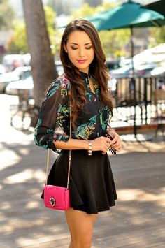 Hapa Time - a California fashion blog by Jessica: Hints of Pink