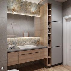 Bathroom Furniture Design, Bathroom Design Luxury, Modern Bathroom Decor, Modern Bathroom Design, Bathroom Styling, Bathroom Design Inspiration, Bad Inspiration, Washbasin Design, Bad Styling