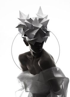 Qi Hu | Origami headgear