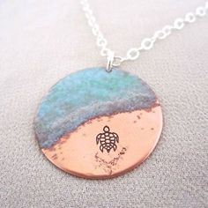 Hey, I found this really awesome Etsy listing at www.etsy.com... http://www.etsy.comlisting/161211274/almost-there-sea-turtle-necklace-in