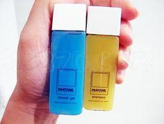 Shower gel and shampoo