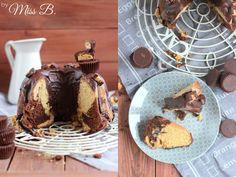 Was soll ich zu diesem Marmor-Gugelhupf schreiben? Das die saftige Erdnussschicht von leckerem Schokoladenteig durchzogen wird? Das euer...