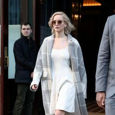 Jennifer Lawrence Combines Two of the Season's Chicest Trends