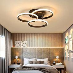 """Low Ceilings Home Lighting Fixtures """" """" Chandelier In Living Room, Low Ceiling, Chandelier Living Room Modern, Home, Living Room Modern, Lighting Fixtures, Modern Lighting Chandeliers, White Lamp Shade, Home Lighting"""