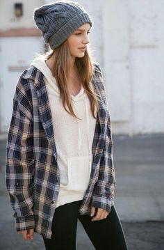 Flannel is ALWAYS in.