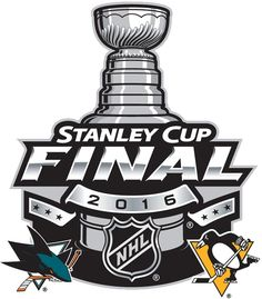 Stanley Cup Playoffs Alternate Logo (2016) - 2016 Stanley Cup Final matchup logo - San Jose VS Pittsburgh Penguins
