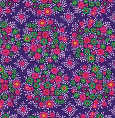 Crazy Love Fabric 'Victoria' Blue Jennifer by SouthernSeamsFabrics, $8.50
