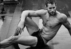 Modelo y chef... ¿Se te ocurre una combinación más absolutamente irresistible?  #cocinero #hombre #chef #sexy #guapo #ellos