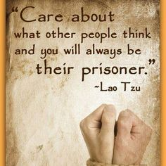 So true. Yes we care to a degree what others think, but should not be our only concern. Pleasing Jehovah is number one.