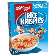 Best Cereal, Easy To Make Snacks, Rice Cereal, Rice Krispies Cereal, Rice Grain, Food Cravings, Making Ideas, Oatmeal, Snack Recipes